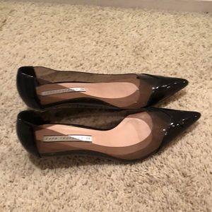 Zara trafaluc women taco shoes